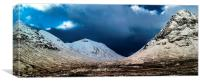 A Scottish Winter, Canvas Print