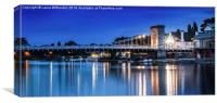 Marlow by Night, Canvas Print