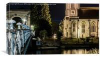 Marlow Church, Canvas Print