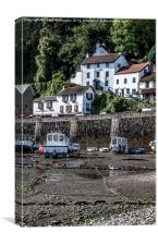 Lynmouth, Canvas Print
