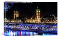 Embankment , Canvas Print