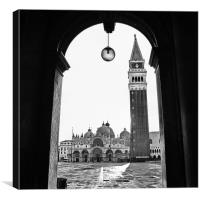 Piazza San Marco, Canvas Print