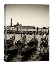 Good morning Venice, Canvas Print