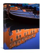 Reflections of Venice, Canvas Print