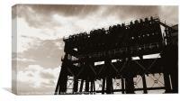 Anderton boat lift  1, Canvas Print