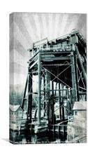 Anderton boat lift 3.1, Canvas Print