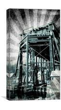 Anderton boat lift 3.2, Canvas Print
