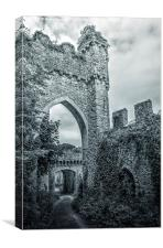 Gwrych Castle Collection 2, Canvas Print