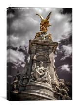 Queen Victoria Memorial, Canvas Print