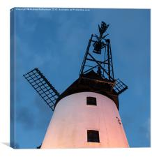 Lytham Windmill, Canvas Print
