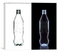 X ray bottle, Canvas Print