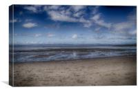 Little Fluffy Clouds Over Morecambe, Canvas Print
