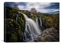 The Loup of Fintry, Scotland, Canvas Print