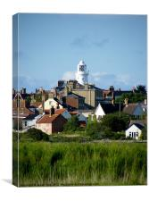 A View of Southwold Lighthouse., Canvas Print