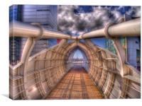 Liverpool Bridge HDR, Canvas Print