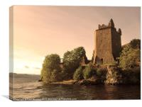 Urquhart Castle Loch Ness, Canvas Print