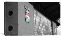 The Kop, Anfield, Liverpool FC, Canvas Print