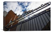 Shankly Gates - Anfield, Canvas Print