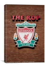 The Kop - Liverpool FC - Anfield, Canvas Print