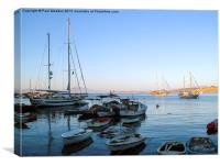 Bodrum Bay in the morning, Canvas Print