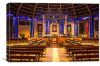 Liverpool Metropolitan Cathedral Interior, Canvas Print