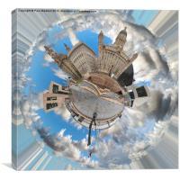 Liverpool 360 Circular, Canvas Print