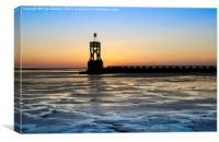 Seaside, Sunsets and Silhouettes, Canvas Print