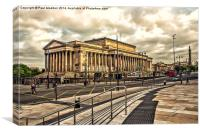 St Georges Hall - Liverpool, Canvas Print