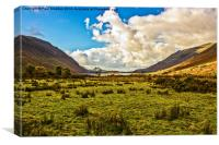 Wastwater in Wasdale, Canvas Print