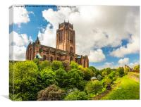 Anglican Cathedral Liverpool, Canvas Print
