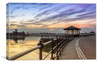 New Brighton Promenade, Canvas Print
