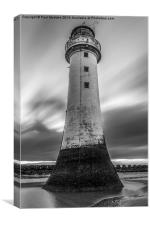 New Brighton Lighthouse, Canvas Print