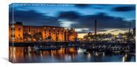 Salthouse Dock - Liverpool, Canvas Print