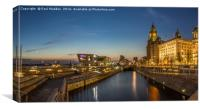 Pier Head Panorama, Canvas Print