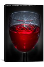 Red red wine, Canvas Print