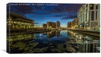Princes Dock - Liverpool, Canvas Print