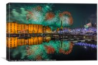 Liverpool River Of Light, Canvas Print