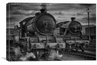 Steam Nostalgia., Canvas Print