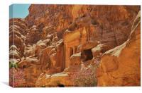 Little Petra, Canvas Print