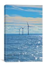 Estuary wind turbines
