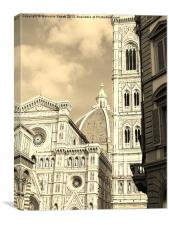Architecture of Florence, Canvas Print