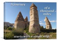 To Start A Journey, Canvas Print