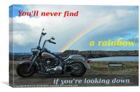 Find your rainbow, Canvas Print