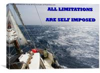 All Limitations Are Self Imposed, Canvas Print