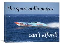 What Millionaires Cant Afford, Canvas Print