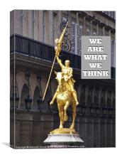 We Are What We Think, Canvas Print