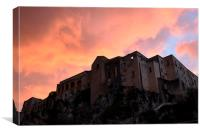 Tropea At Sunset, Canvas Print