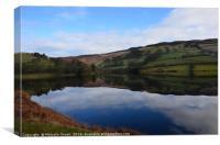 Ladybower Reservoir                               , Canvas Print