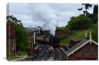 Yorkshire Steam Railway                           , Canvas Print