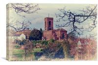 Wolverley Church, Canvas Print
